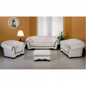 Белая мягкая мебель Crocus