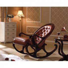 Деревянное кресло-качалка Mobilica M318 (black walnut)
