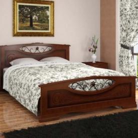 Кровать Елена 5 с элементами ковки