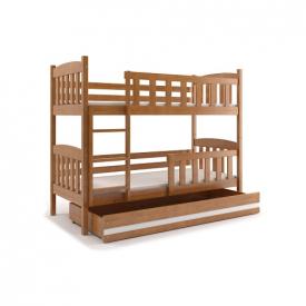 Деревянная двухъярусная кровать Kubus Adler