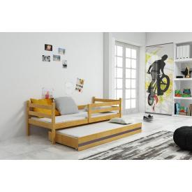 Кровать с дополнительным спальным местом Eryk Pine