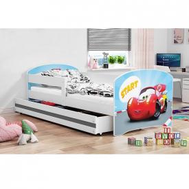 Детская кровать Luki White