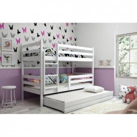 Кровать трехъярусная детская Eryk White