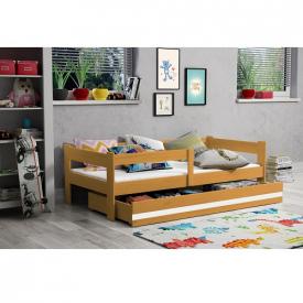 Детская кровать с бортиками и ящиками Hugo Adler
