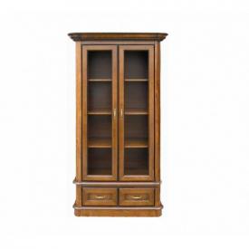 Книжный шкаф со стеклянными дверцами Bawaria B 10