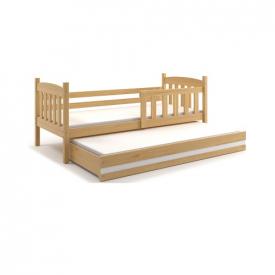 Кровать двойная выдвижная Kubus Pine