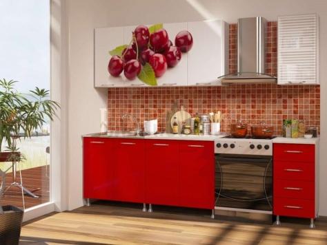 Кухонный гарнитур Вишня