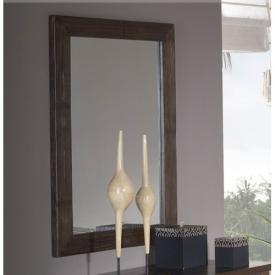 Большое зеркало в раме из бамбука Leigan