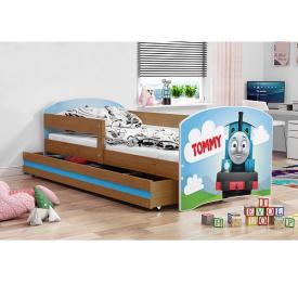 Детская кровать с выдвижным ящиком Luki Adler
