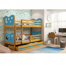 Двухъярусная кровать с ящиками Max Adler