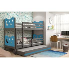 Деревянная двухэтажная кровать Max Graphite