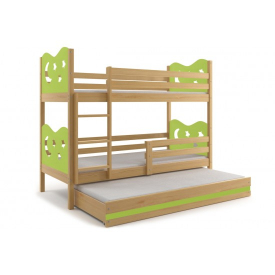 Детская кровать для троих Max Pine