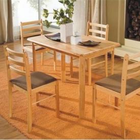 Стол и 4 стула Натура