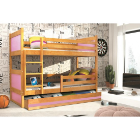 Удобная двухъярусная кровать Rico Adler
