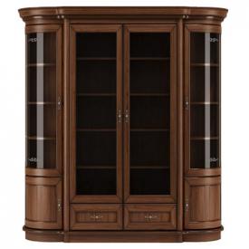 Шкаф для книг со стеклом Wersal W34