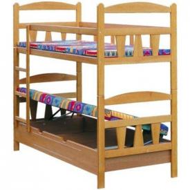 Двухъярусная кровать с подъемным механизмом Skaut