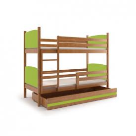 Двухъярусная деревянная кровать Tami Adler
