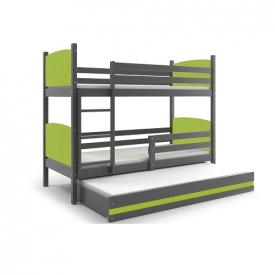 Двухуровневая кровать Tami Graphite