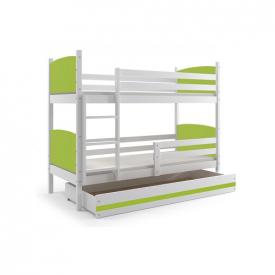 Кровать из дерева двухъярусная Tami White