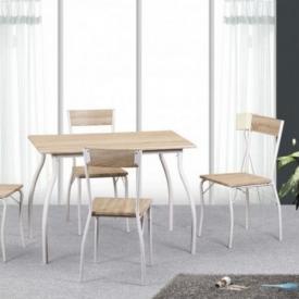 Стол и стулья Viotti