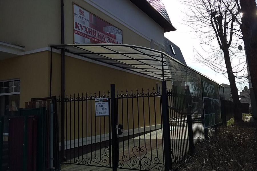 Алтай забор в Калининграде