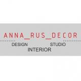 Дизайн интерьера в современном стиле, мастерская Anna Rus Decor